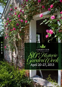 Virginia Garden Week 2013 Tour Cover