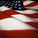background image - American Flag